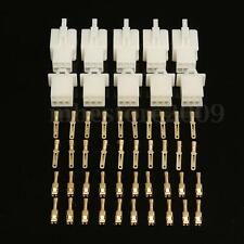 5pcs 5 Way 2.8mm Connector Terminal Kits For Car Motorcycle Motorbike Scooter