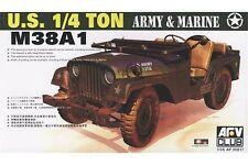 AFV Club AF35S17 1/35 U.S. 1:4 ton M38A1 Army & Marine