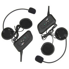 Vnetphone V6-1200-2-US Motorcycle Helmet Headset Bluetooth Interphone Intercom