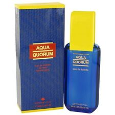 AQUA QUORUM By ANTONIO PUIG,3.4 OZ EAU DE TOILETTE SPRAY For MEN