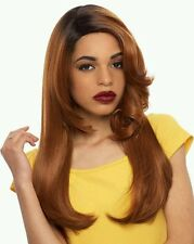 Janet Collection Two Block Lace Wig two styles. Diva Color OEM3801