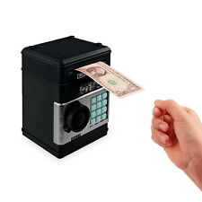 Combination Lock Money Box Code Key Coins Cash Saving Piggy Bank Gift Counter