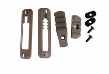 Airsoft RIS rail with pressure Pad / switch mount for the MOE handguard tan DE