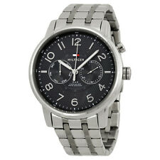 Tommy Hilfiger Multi-Function Grey Dial Stainless Steel Mens Watch 1791086