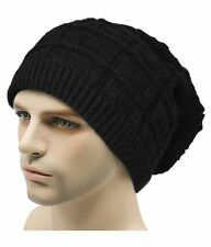 Woolen Black Beanie Cap, Skull, Winter and Woolen Cap head cap