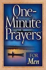 One-Minute Prayers for Men by Harvest House Publishers Staff (2004, Paperback)