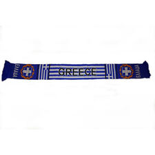 GREECE HELLAS BLUE  COUNTRY FLAG  THICK SCARF.. NEW