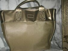 Versace Women's Large Golden Summer Tote Bag. New. Authentic. Weekender Hand Bag