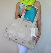 NWT Lululemon Om For All Yoga Gym Bag Cashew