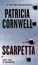 Scarpetta by, Patricia Cornwell,hardcover  = LARGE PRINT