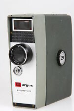 Argus Automatic 8, 8mm Filmkamera mit Cinepar 1,8 / 13mm #2607486