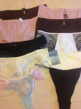 25D. BN  LADIES.THONGS.&BRIEFS. SIZE. XL.   PACK OF 10 By SAMPLES
