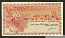 Suriname 2½ Gulden 1961 Zf Pn 117a Replacement - P8843