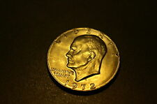 1972 D  EISENHOWER DOLLAR CLAD CIRCULATED