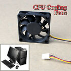 3 Pin 12V Case Computer Cooler Cooling Fan PC 60x60x15mm Black E #T1K