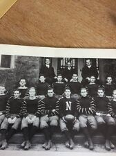 N1-5 Ephemera Ww1 Reprint Picture Newman Academy Football Team 1912