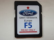 FORD SAT NAV NAVIGATION SD CARD F5 EUROPE MAP 2016 GENUINE GM5T-19H449-FA