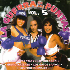 Guerra de las Puntas, Vol. 5 by Various Artists  LATIN CD