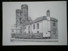 POSTCARD KENT LONGPORT - CEMETARY GATE CANTERBURY - PENCIL SKETCH