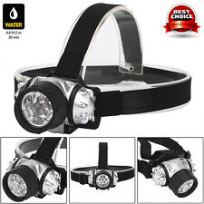 7 LEDs Waterproof Headlamp Headlight Flashlight Head Light Lamp Torch Durable