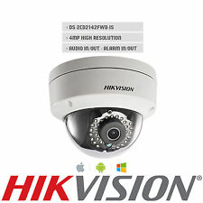 Hikvision DS-2CD2142FWD-IS English Version IP Camera 4MP POE IP66 CCTV SD 2.8mm