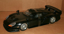 1/18 Porsche 911 GT1 Diecast Model Black 1997 Porsche GT Roadcar UT Models 27847