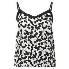 BNWT Missoni Black Ladies 100% Silk Camisole Floral Top @ Target NEW Size 8