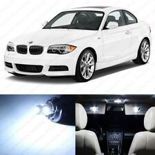 6 x White LED Interior Light Package For 2008- 2013 BMW 128i 135i E82 E85 E86 1M