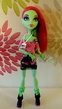 * monster high musical festival vip venus mcflytrap poupée *