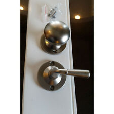 Screen Door knob and Pull Lever Satin Nickel Finish
