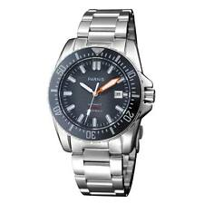 Parnis 43mm Sapphire Glass Miyota Diver Automatic Black Dial Date Men Watch