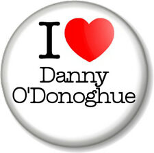 "I Love  /Heart Danny O'Donoghue 25mm 1"" Pin Button Badge The Script & Voice UK"