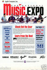 1994 Print Ad of Apple Computer Inc The National Music Expo