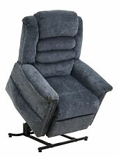 Catnapper Soother 4825 Power Recliner Lift Chair + Heat Massage - Galaxy Blue