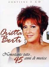 Nonostante Tutto ... 45 Anni Di Musica [3 CD] - Orietta Berti GAPP MUSIC