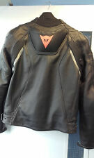 Dainese Superfast Leather Jacket - Blk/Gun/Orange - Size 46 (Euro 56) - £299.99
