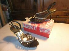 Wild Rose Ladies high heel shoes with ankle Strap sz 12