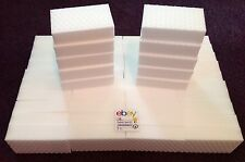 "50 PACK Magic Sponge Eraser Heavy Duty Extra Power Pro Melamine Foam 1"" Thick"
