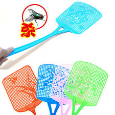 Fly Insect Mosquito Swatter Plastic Handy Bug Killer Long Racket Handle Swat