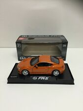 "Scion Toyota FR-S 1:36 scale 5"" diecast 2013 model car Orange Lights Up Music"