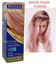 ROSE PEARL 09 HAIR PINK TONER, DYE FOR BLOND BLEACHED HAIR NO AMMONIA & PEROXIDE