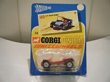 "Corgi Junior No: 58 ""G.P. Beach Buggy"" - Metallic Red (UNOPENED/Original 1971)"