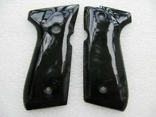 Cool !! black pearl polymer resin grip for beretta 92fs, 96,M9  thailand handmad