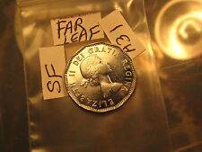 SUPER RARE! CANADA 1953 MULE 5 CENT COIN  FAR LEAF SHOULDER FOLD VARIETY ID#A31