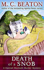 Death of a Snob by M. C. Beaton (Paperback, 2008)