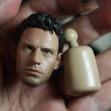 "1:6 Chris Redfield Head Model Toys For 12"" Figure Resident Evil Piers Toys A-04"