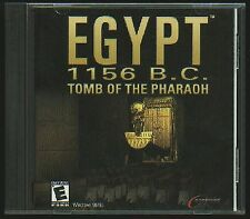 EGYPT 1156 BC Tomb of the Pharaoh  PC Game CD-ROM Adventure NEW Sealed