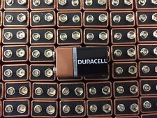 10 x (9v) Duracell CopperTop Duralock Alkaline Batteries -FRESH DATE 2021