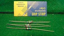 (1) 5 Pack IRC Carbon Comp 5.6 MEG OHM 1/2 Watt 10% Resistors NOS