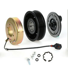 A/C Compressor Clutch Kit Pulley Bearing Coil Plate For Nissan Murano Quest New